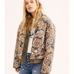 """Free People """"great escape"""" reversible jacket Large"""